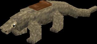Komodo Dragon saddled.png