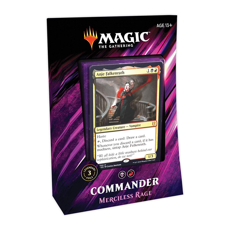 Commander 2019/Merciless Rage - MTG Wiki