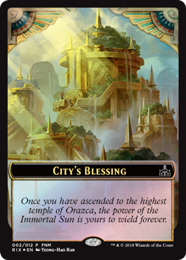 City's Blessing - MTG Wiki