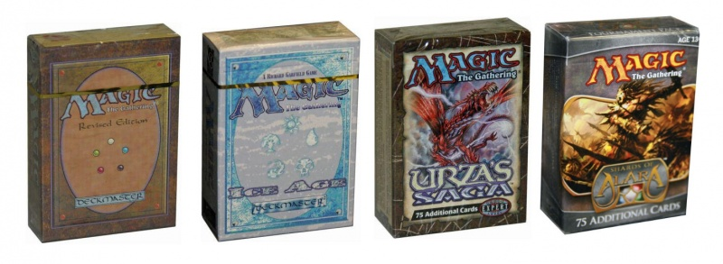 Starter decks and tournament packs