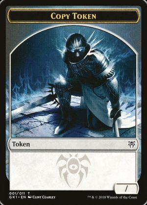 graphic about Mtg Tokens Printable known as Copying things - MTG Wiki
