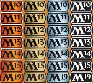 image about Magic the Gathering Set Symbols Printable named Main established - MTG Wiki