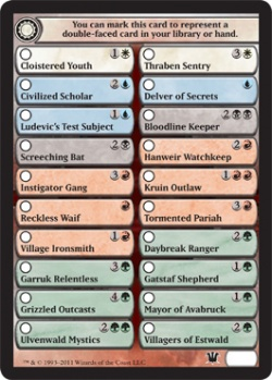 picture regarding Magic the Gathering Printable titled Innistrad - MTG Wiki