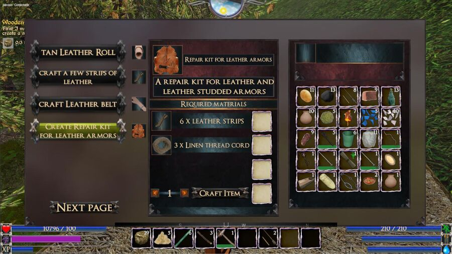 A Repair Kit For leather Armors