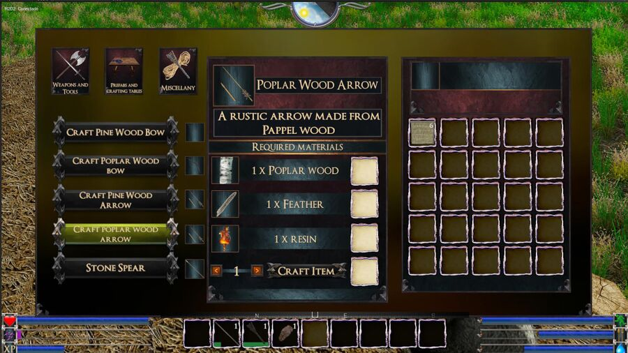Poblar Wood Arrow