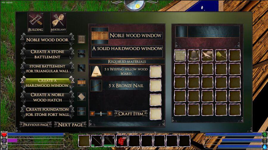 A Hardwood Window