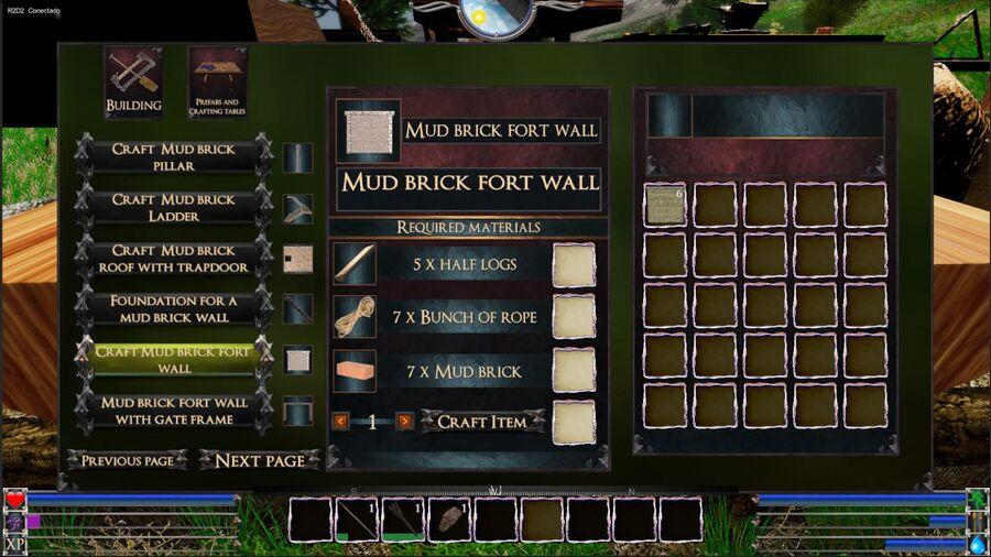 Mud Brick fort Wall