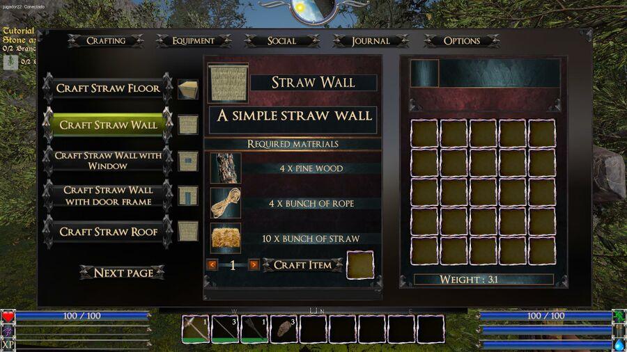 Straw Wall