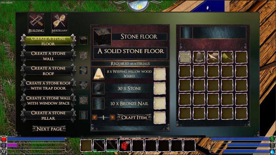 A Stone Floor