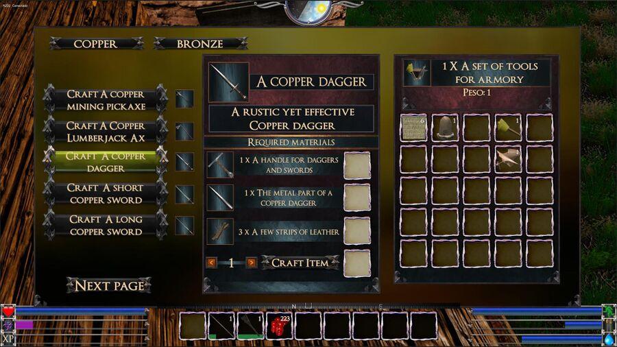 A Copper Dagger