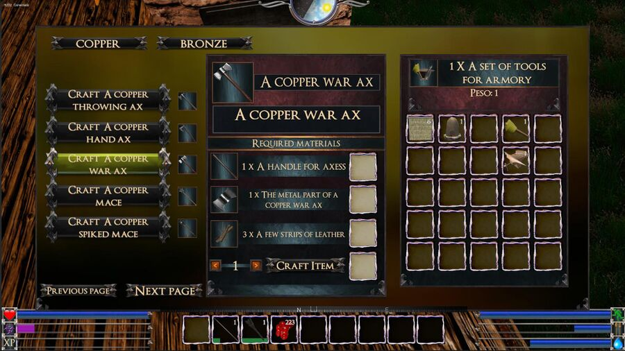 A Copper War Ax