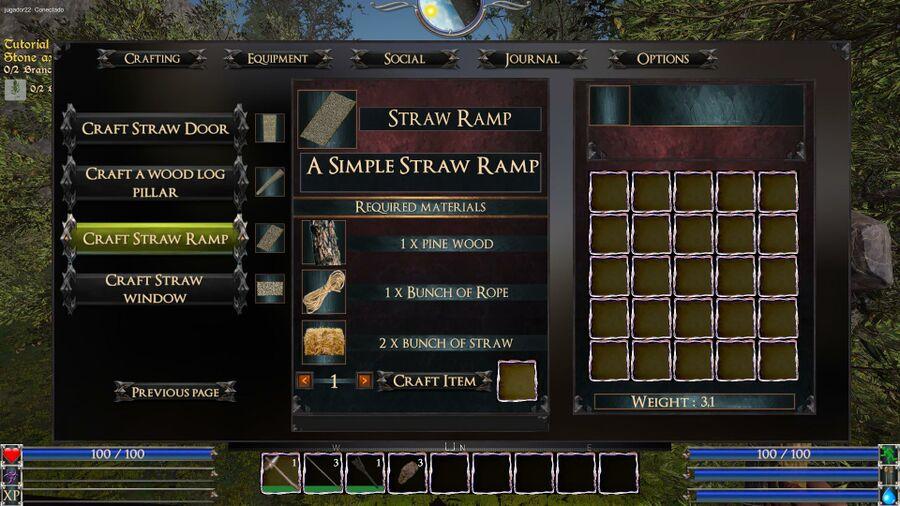 Straw Ramp