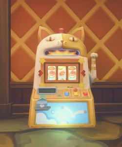 Portia slot machine controls parts