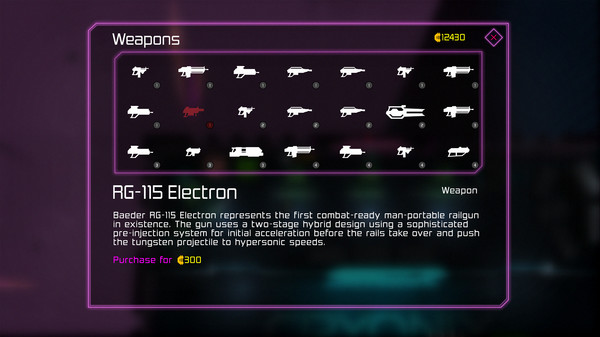 Weapons - Official Neon Chrome Wiki