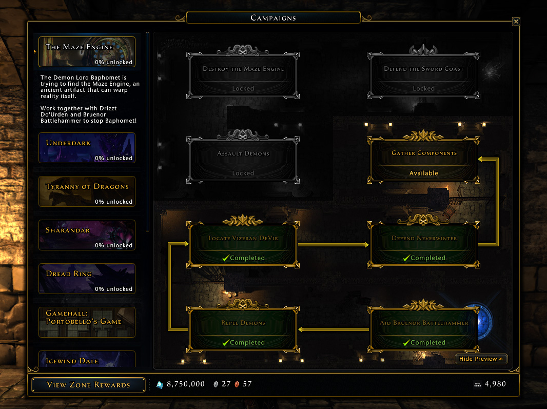 The Maze Engine Campaign Progress Tree.jpg