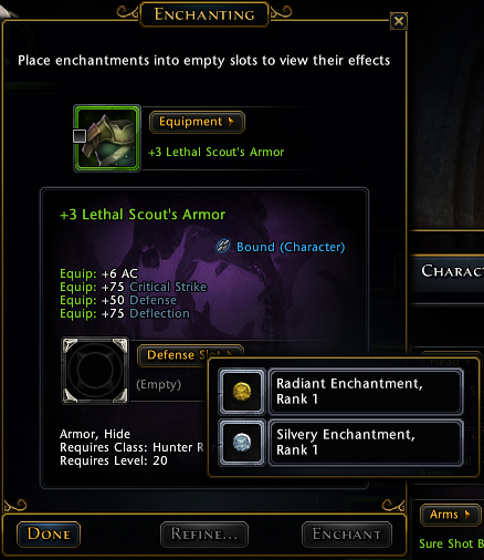 Enchanting - Official Neverwinter Wiki