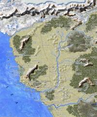 Карта Побережья Мечей