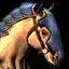 Medium palomino horse.png