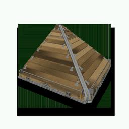 Wooden Roof Corner