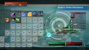 Ikedar's Stellar Resistance