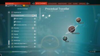 Procedual Traveller