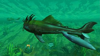 Plumed Blindrhai