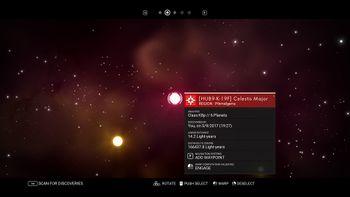 HUB9-K-19F Celestis Major