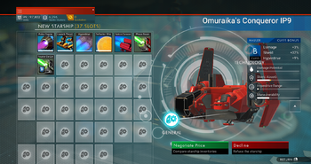 Omuraika's Conqueror IP9
