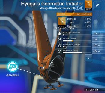 Hyugai's Geometric Initiator