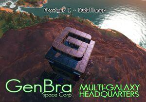 GenBra Multi-Galaxy Headquarters