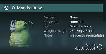 O. Mandraktuoe