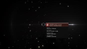 HUB8-K-43 Acamar