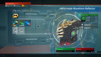Hand-made Waveform Reflector