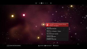 HUB9-V-1F7 Celestis Prime