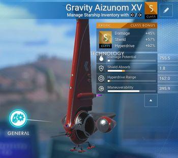 Gravity Aizunom XV