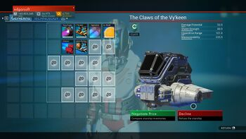 The Claws of the Vy'Keen