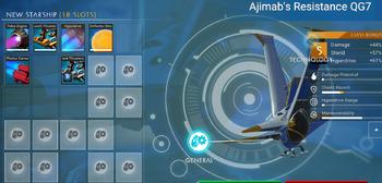 Ajimab's Resistance QG7