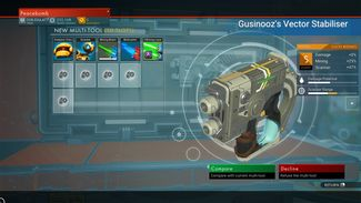 Gusinooz's Vector Stabiliser