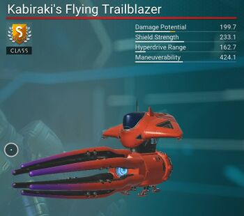 Kabiraki's Flying Trailblazer