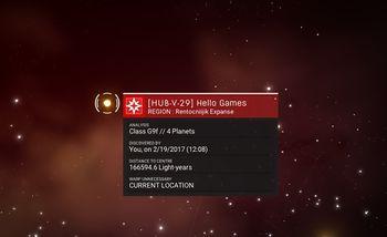 HUB-V-29 Hello Games