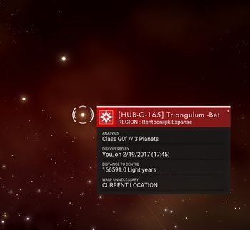 HUB-G-165 Triangulum Beta