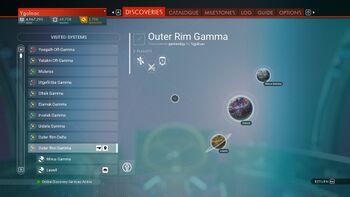 Outer Rim Gamma