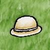 Undyed Bowler Hat