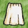Undyed Long Skirt