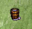Partial Bucket of Skim Milk