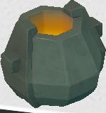 Stone Furnace Crucible