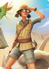 Zoey Jurassic Journey card.png
