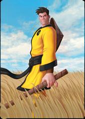 Maximilian Cardboard Samurai card.png