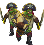 Pirate Heavy Orc