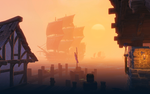 Docks at Eventide